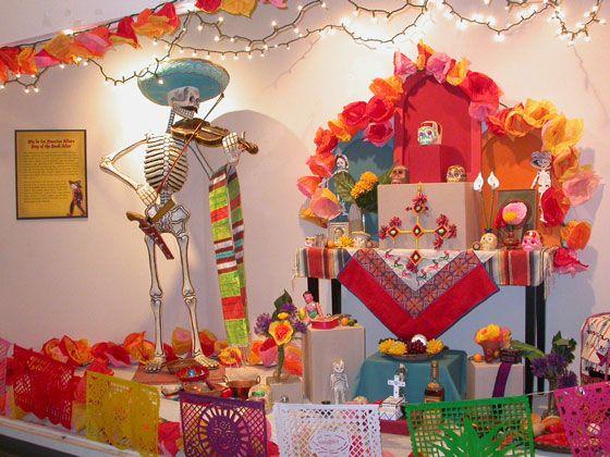 Dia de los Muertos display