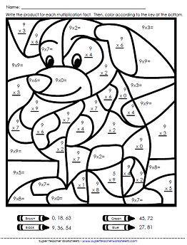 Multiplication Worksheets - Basic