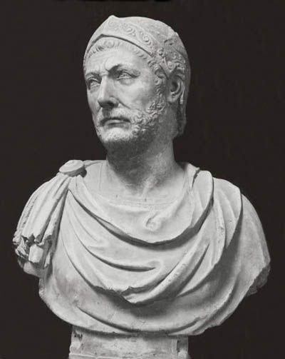 Hanibal Barca,  el gran general de  Cartago  durante la primera guerra Púnica