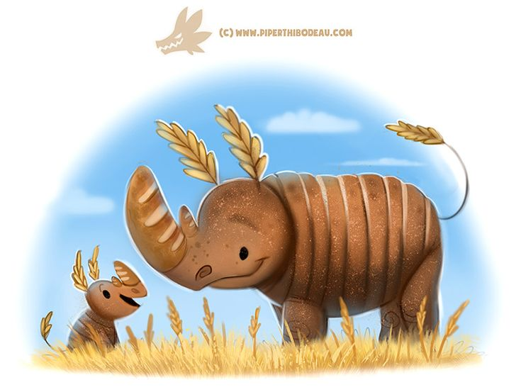 Daily Paint #1231. Ryeno, Piper Thibodeau on ArtStation at https://www.artstation.com/artwork/wxQmX