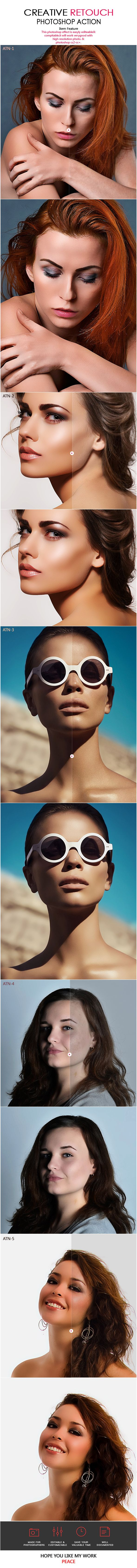 Creative Retouch Photoshop Action