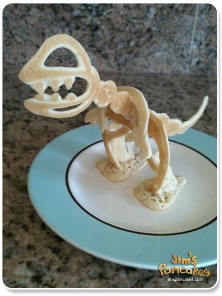 I want to make this!!! And I shall eat T-Rex for breakfast! Muah hahaha!!