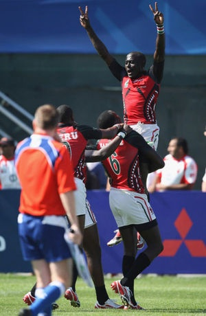 For over three years Toby helped the Kenya 7s team with amazing results - getting to the semi final of the Rugby 7s World Cup, further than England, new Zealand and a host of other big names, and qualifying sixth in the World on the IRB World 7s Circuit.   Some of this was backdrop of growing ethnic violence back in Kenya on top of the daily struggle to raise finance for the team.