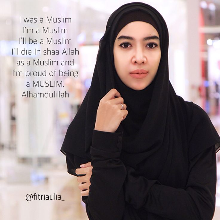 Fitri Aulia. Proud to be muslim.