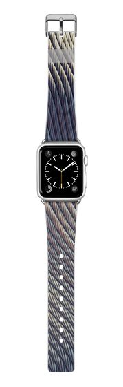 Casetify Apple Watch Band (38mm) {{case}} - Fabric Distortion AW by Daniac #Casetify