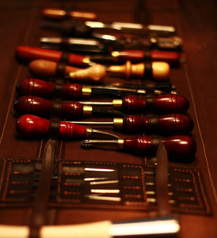 Armitage Leather Tool Roll 4