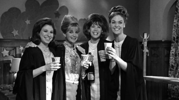 You remember The First Wives Club , the 1996 film starring Bette Midler, Goldie Hawn, and Diane Keaton?