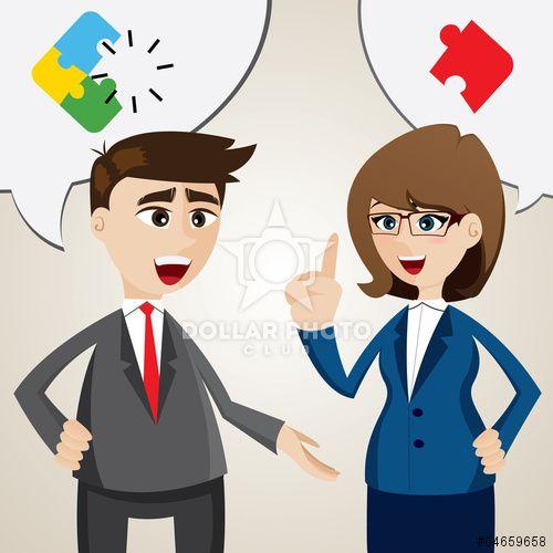 https://cz.dollarphotoclub.com/stock-photo/cartoon solve problem between businessman and businesswoman/64659658 Dollar Photo Club miliony kvalitních obrázků za 1$ za každý