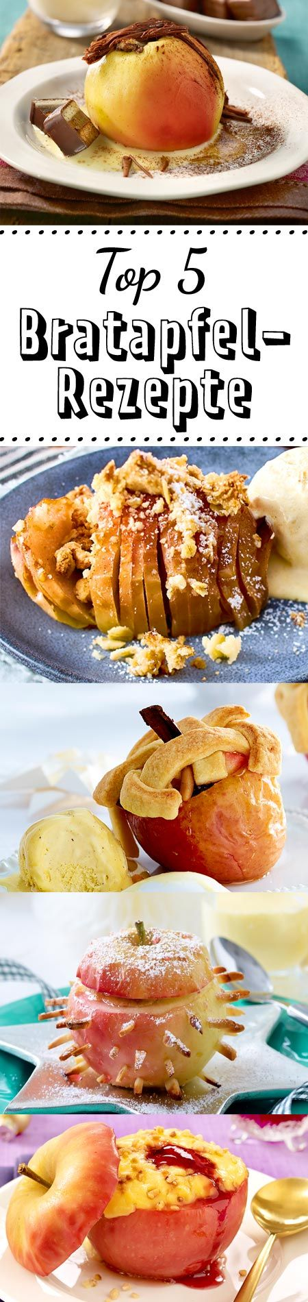 #Bratapfel #Dessert #Winter #anappleaday #Ofen #Rezept