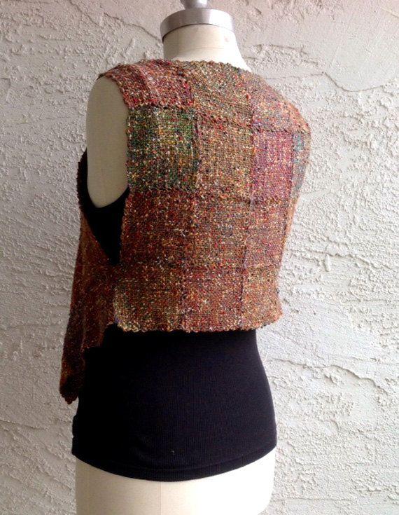PDF Weaving Pattern for Pin or Zoom Loom Harlequin Vest Instant Download