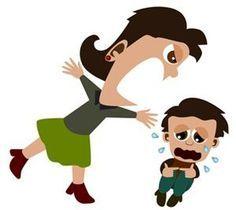 maman qui crie sur son enfant