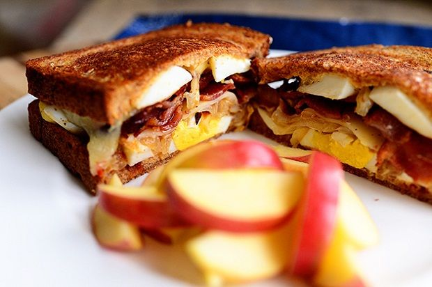 Ultimate Grilled Cheese Sandwich- breakfast. Lunch.