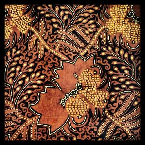 Indonesian fabric