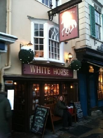 great British pub with great home cooked food Oxford England