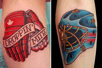 15 Badass Hockey Tattoos That Prove Ice And Ink Belong Together