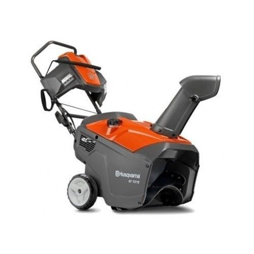 New-Snow-Blower-Thrower-6-8Hp-Gas-Single-Stage-Electric-Start-Snowblower-Winter