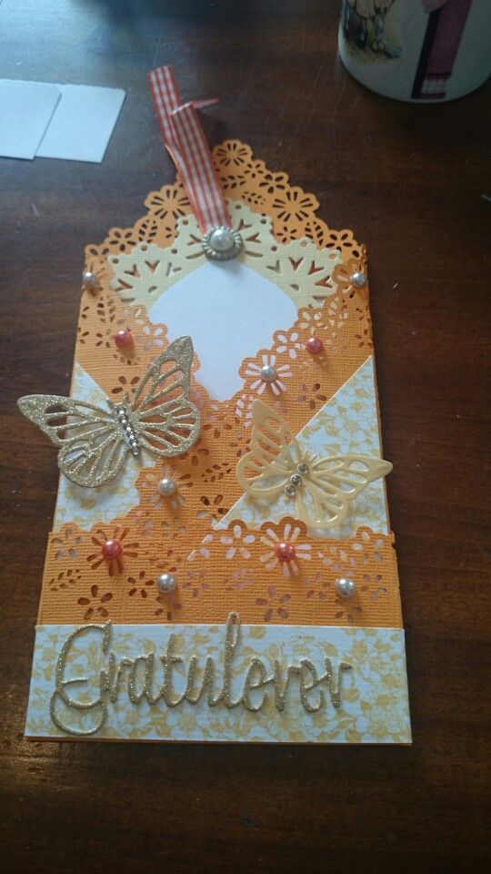 Gratulasjonskort. Congratulations card. Made by me BBH