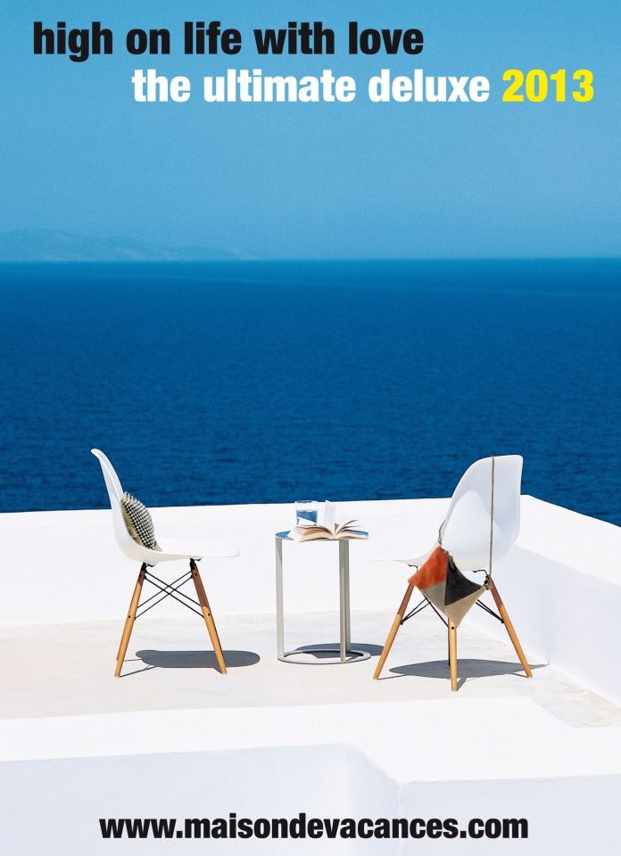 Greece and Paris in a shaker for a great summer feel...Photograph by Gaelle Le Boulicaut