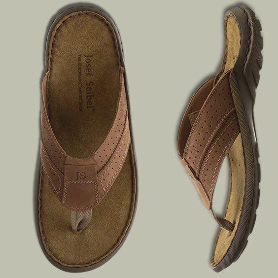 Josef Seibel Men's Logan 25 Toe Post Sandals