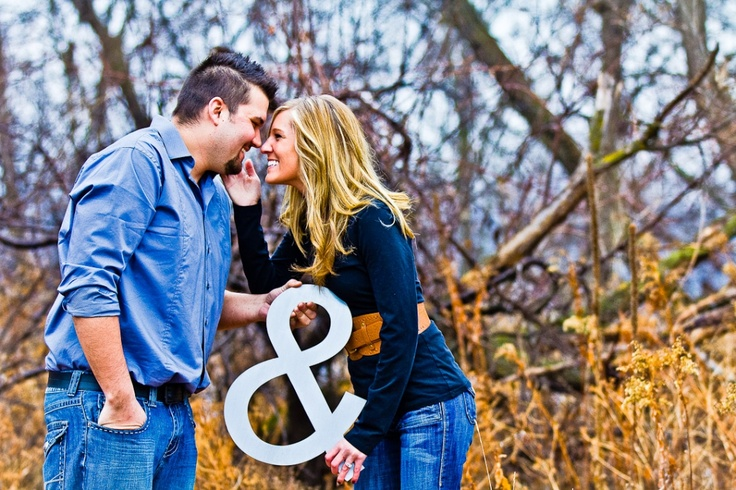 fun engagement pic ideas
