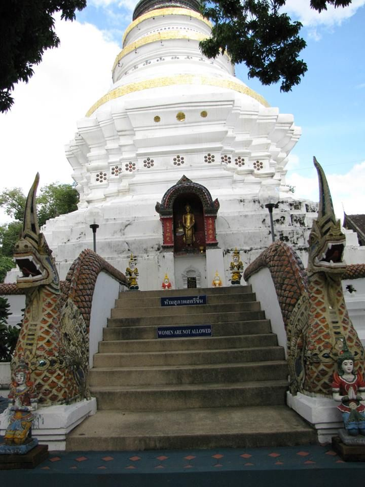 """It is located 700 km (435 mi) north of Bangkok, among the highest mountains in the country. The city is along the Ping River, a major tributary of the Chao Phraya River. Chiang Mai means """"new city"""" and was so-named because it was the new capital, founded in 1296, succeeding Chiang Rai (founded 1262) in the capital of the Lanna kingdom."""