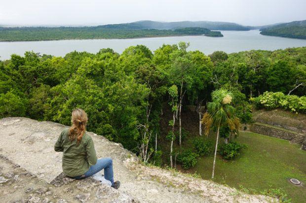Yaxha ruins, #Guatemala custom tour with AdventureSmith