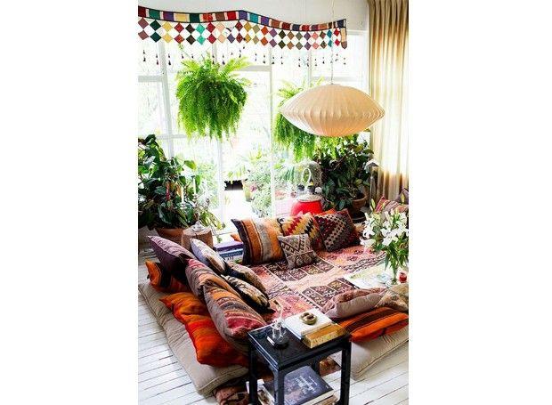 Decoracao Sala Hippie ~  Sala Hippie no Pinterest  Quarto hippie, Quartos hippie e Dormitório
