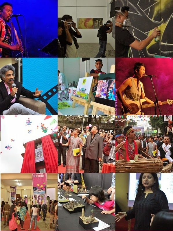 18 Degrees Festival 2014 - promoting art and culture | Music Malt   WHEN? October 9 to 11 (Thu-Sat), 2014 WHERE? State Central Library Complex, Shillong, Meghalaya, India, 793001