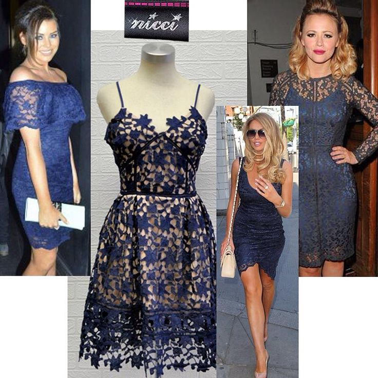 #Lovely #French #lace dress now at #Nicci #NicciSummer15 #trend #evening