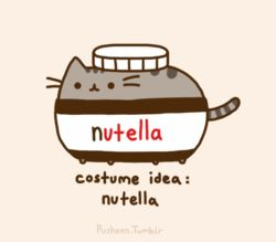 I can't decide which one I like more: Pusheen or Nutella.