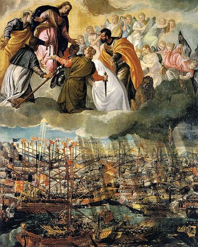 The Battle of Lepanto (1572)  Paolo Veronese (1528 – April 19, 1588)