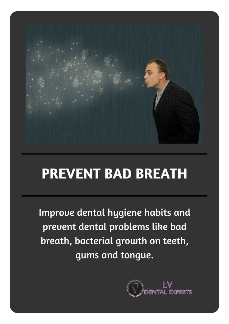 Improve dental hygiene habits and prevent dental problems like bad breath, bacterial growth on teeth, gums and tongue.