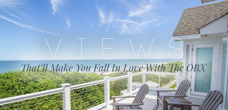 Views That'll Make You Fall In Love With The OBX - Resort Realty of the Outer Banks | #OBX #oceanviews