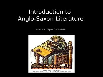 anglo saxon heroic poetry essay Anglo-saxon culture essay  tended to view the bible and the life of christ through the lens of the heroic epic  and anglo-saxon poetry continued to be.