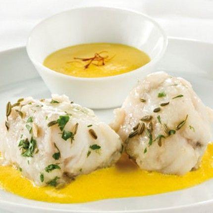 Granarolo propone la ricetta della coda di rospo preparata con salsa al mascarpone e zafferano.