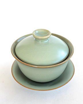 Ju Ware Gaiwan from Lin's Ceramics Studio  handolcha.com