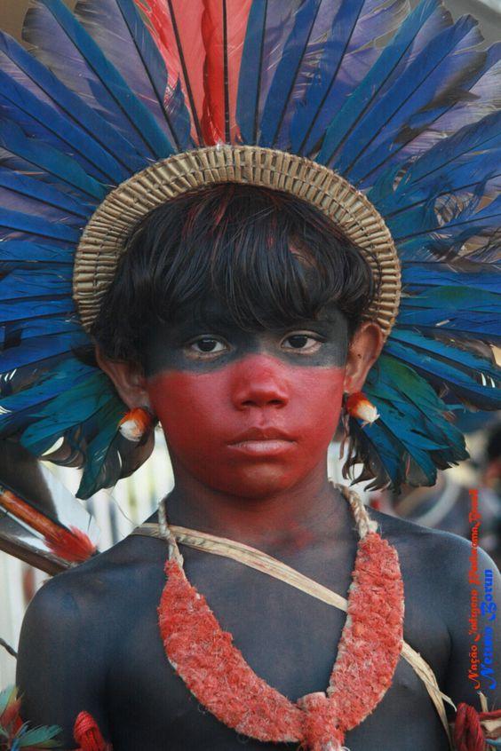 "A Jurubeba Cultural:    ● ""Tô de olho em vocês!!!"". (Assurini de Netuno Borum Krekmum. Guarani, Brasil)."