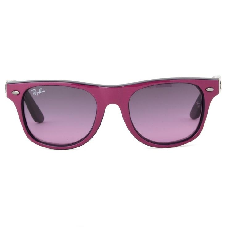 Ray-ban Fuchsia Wayfarer Sunglasses for kids