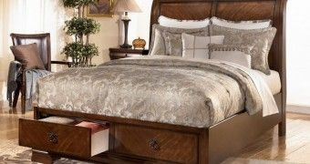 Classic inspiration with california king bed frame with storage