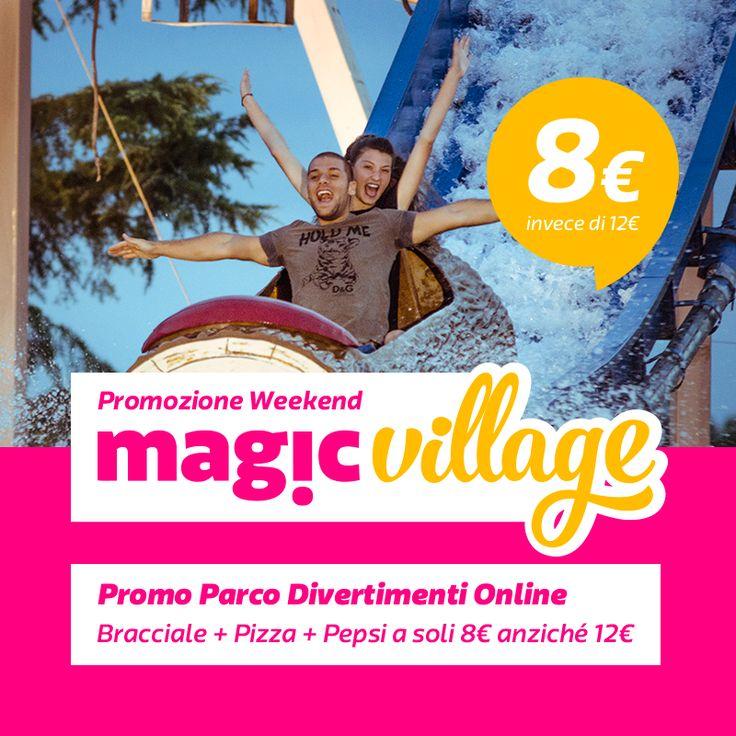 Non perdere la nostra nuova esclusiva PROMO WEEKEND PARCO DIVERTIMENTI! Valida tutti i sabati e le domeniche di settembre.   BRACCIALE GIOSTRE a soli 8€ online -> www.magicworld.it/store/?p=5