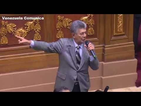 Intervención de Henry Ramos Allup en la Asamblea Nacional. 5 de enero de...
