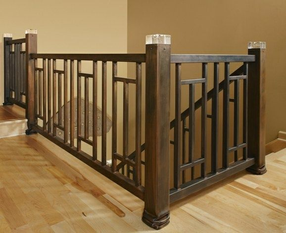 Craftsman Style Porch Stair Railing Things I love in