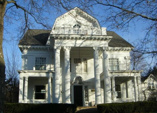Marvelous Heritage Hill Historic District: House Greek Revival With Italianate  Touches, Grand Rapids, MI