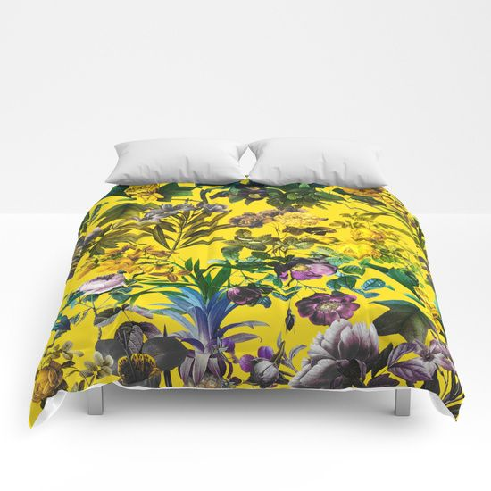 Check out society6curated.com for more! @society6 #floral #flowers #pattern #home #decor #comforter #duvet #covers #homedecor #sleep #nighttime #bed #bedding #bedroom #apartment #apartmentgoals #sophomore #year #college #student #dorm #buy #shop #shopping #sale #art #awesome #sweet #cool #yellow #purple #green