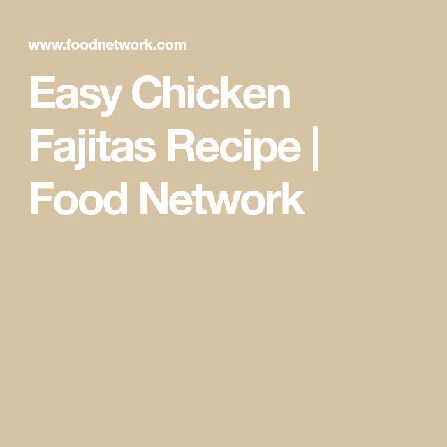 Mer enn 25 bra ideer om chicken fajita recipe food network p chicken fajita recipe food network forumfinder Choice Image