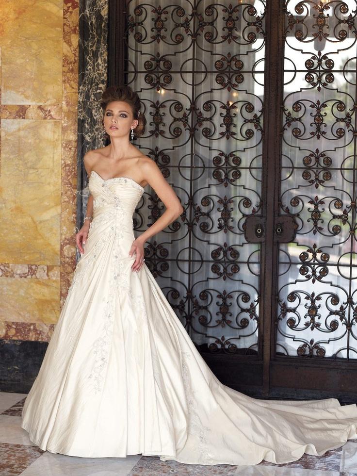 10 best Sophia Tolli images on Pinterest | Hochzeitskleider, Kleid ...