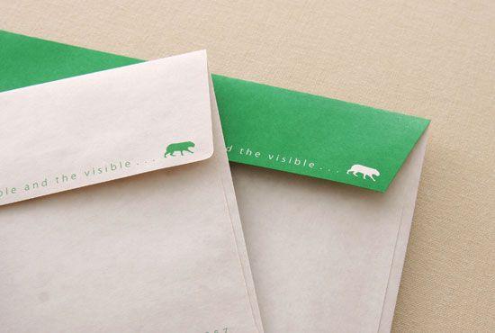 お客様の制作例|ハグルマ封筒オンラインストア