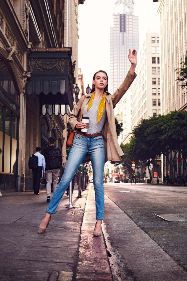 Denim that takes you through your day comfortably, no matter what it brings.