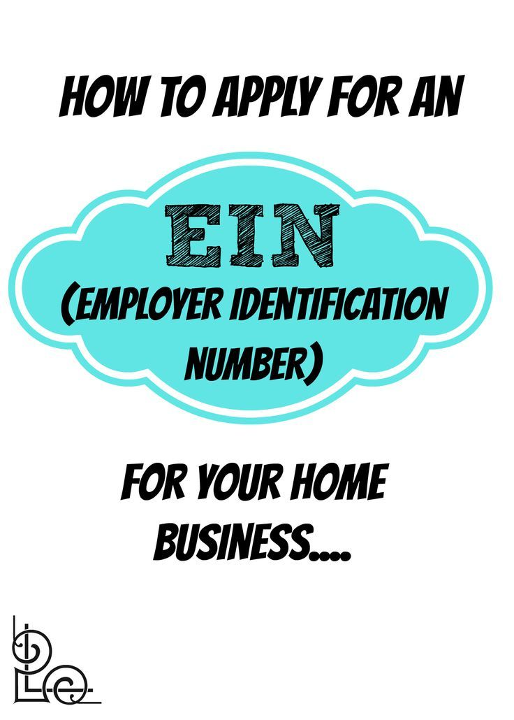 How to apply for an EIN (Employer Identification Number) for your business #taxes #wahm - 1099Mom