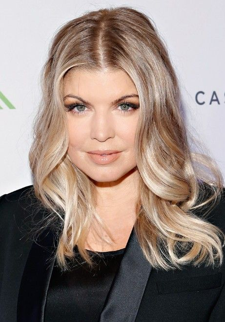 Fergie Medium Hairstyle for Trendy Color 2013 - Fergie Hairstyles 2013